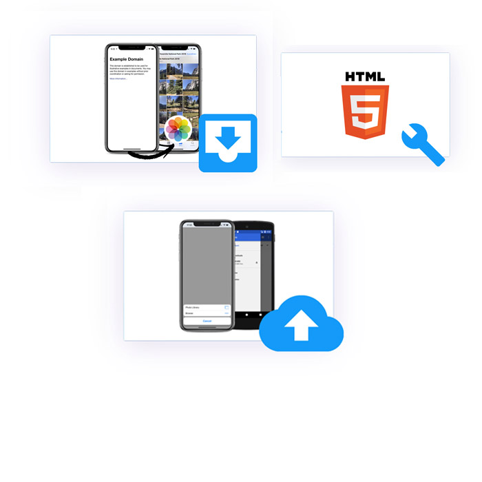 No coding required. But powerful, additionalhttps://www.webviewgold.com/assets/images/illustrations/UI/html5.jpg APIs.